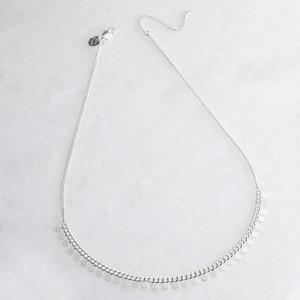 Silver Dotty Short Necklace