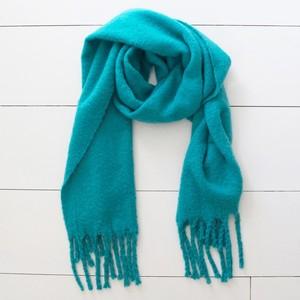 Teal Blanket Scarf
