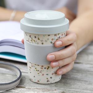 Terrazzo Bamboo Coffee Cup