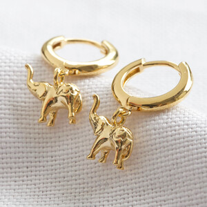 Elephant Huggies in Gold