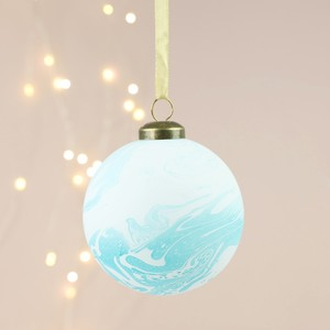 Blue Marble Bauble