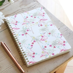 A5 Party Flamingo Notebook