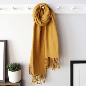 Lambswool Scarf in Mustard