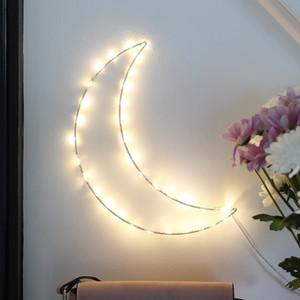 LED Light Up Moon Decoration