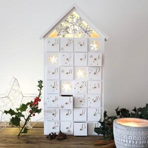 LED Snowflake Advent House