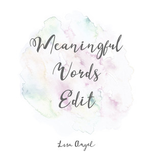 Meaningful Words Edit