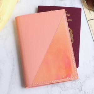 Passport Holder in Pink