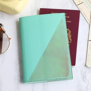 Passport Holder in Turquoise