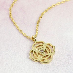 Root Chakra Necklace In Gold