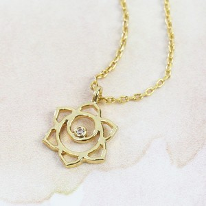 Sacral Chakra Necklace In Gold