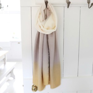 Soft Yellow Ombre Scarf