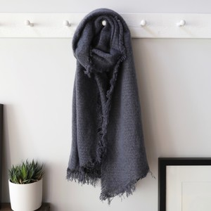 Sparkle Blanket Scarf in Dusky Blue