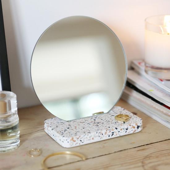 Terrazzo Base Mirror