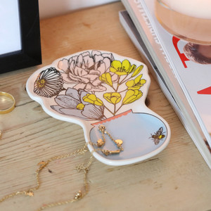 Wildflower Vase Trinket Dish