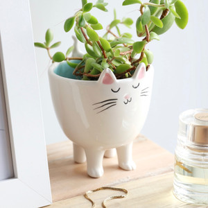 Standing Cat Planter
