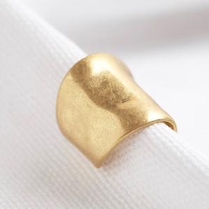 Gold Long Earcuff