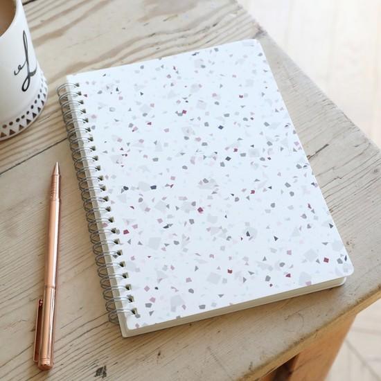 A5 Terrazzo Notebook