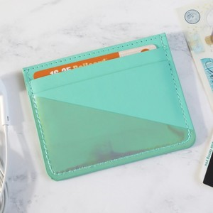Turquoise Card Holder