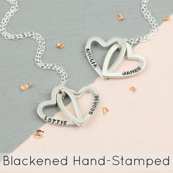 Lisa Angel Blackened Hand-Stamping
