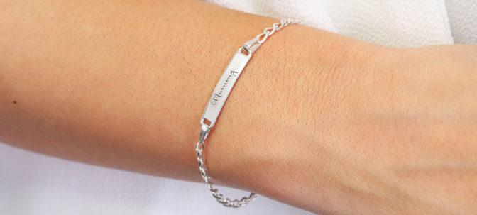 Lisa Angel Personalised ID Bracelet