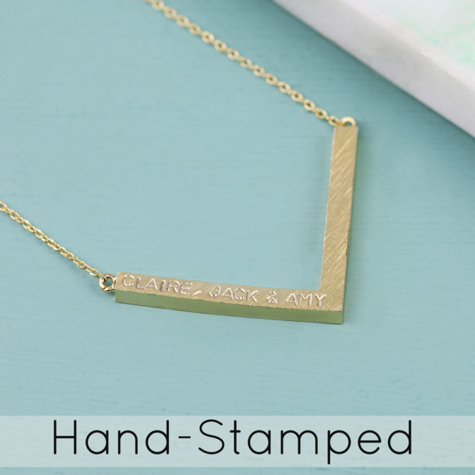 Lisa Angel Hand-Stamped