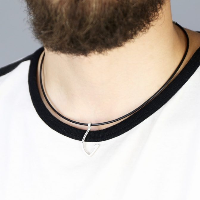 Men's Personalised Sterling Silver Necklace