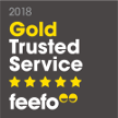 Feefo Gold Trusted Merchant 2018